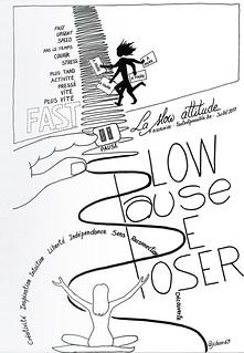 "Sketchnotes ""La slow attitude"""