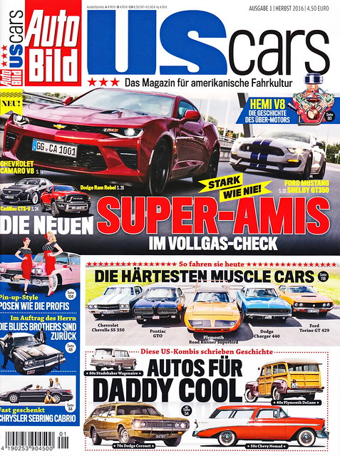 Auto Bild US Cars 1/2016