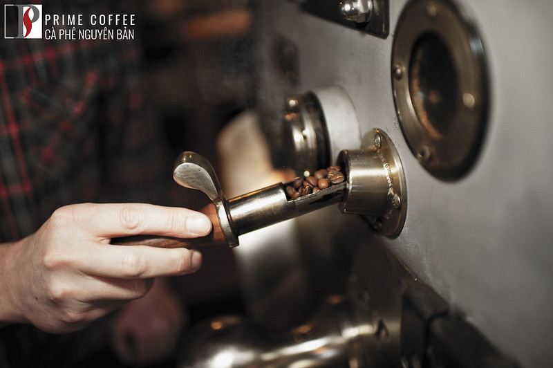 Crack đầu tiên trong qua trình rang cà phê