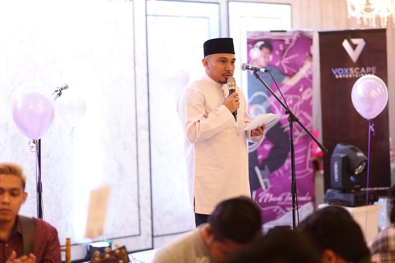 PELANCARAN MUZIK TIDURANKU IZZUE ISLAM
