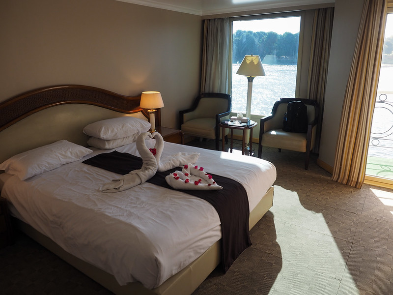 Nile cruise ship room