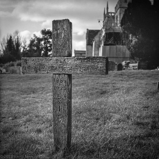 Purton Wooden Cross