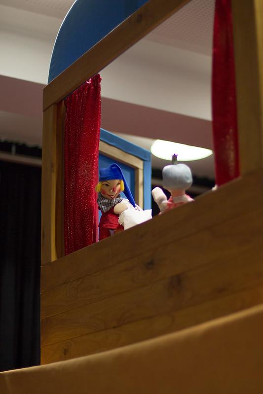 Kasperltheater: Kasperl und die blinde Kuh, Fotos © Robert Pendl