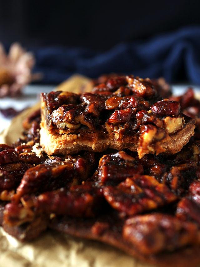 全素焦糖胡桃方塊 vegan-caramel-pecan-bars (7)