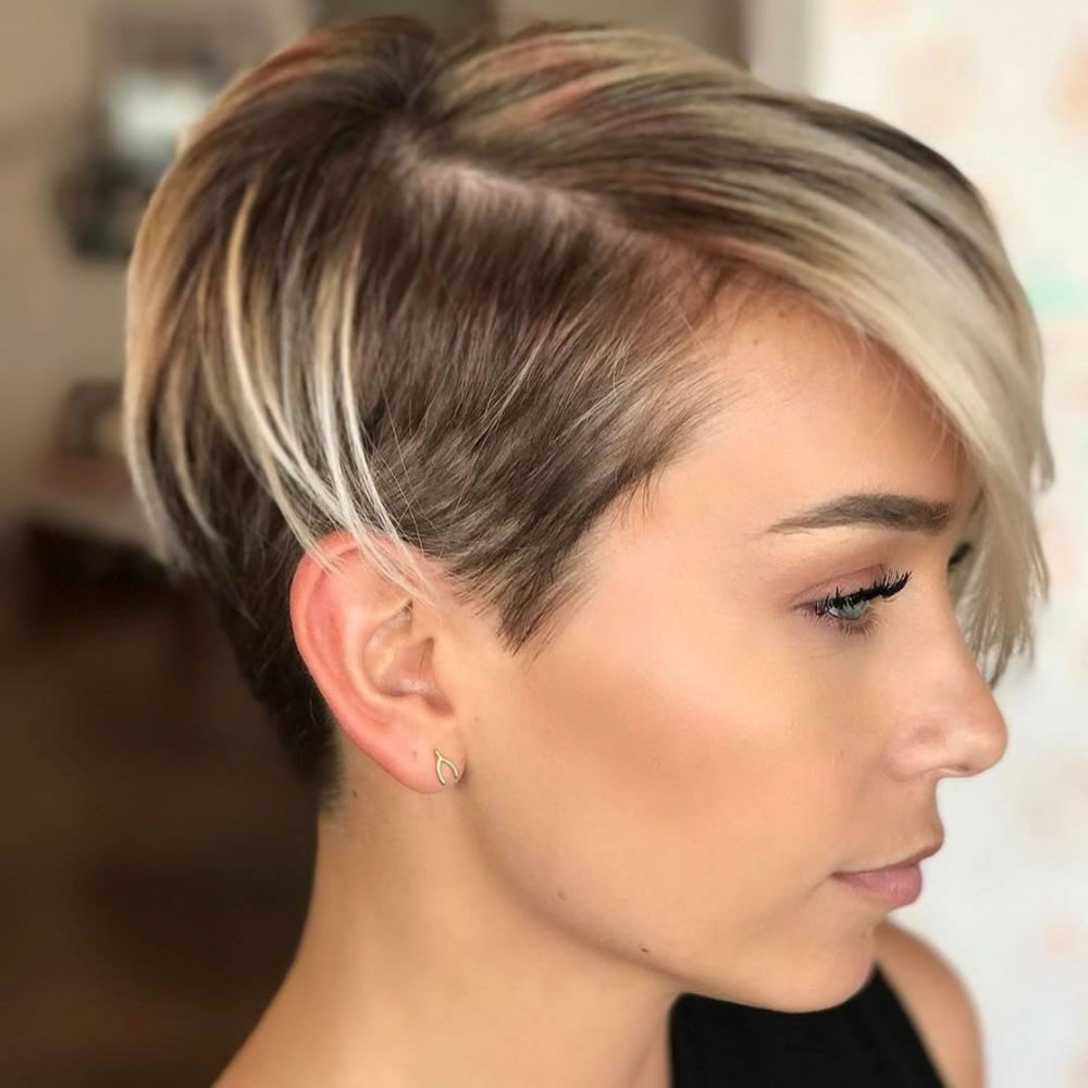 Undercut Short Pixie Hairstyles - Undercut Hairstyles 2018 1
