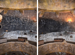 Watchtower Level 3 - Before & After Conservation Work - 6580