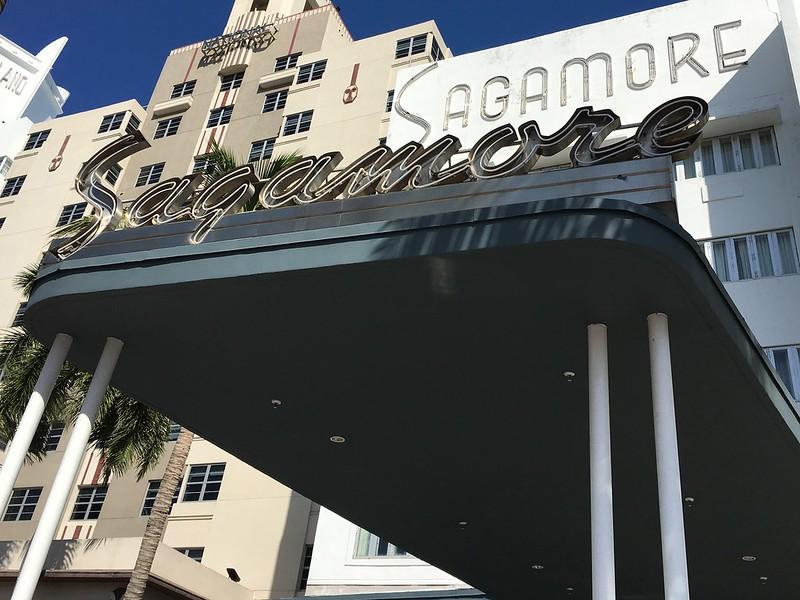 Sagamore Hotel Sign