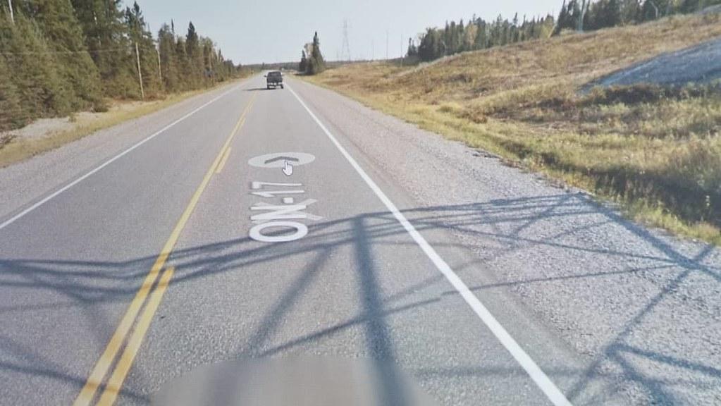 Beautiful road. #ridingthroughwalls #xcanadabikeride #googlestreetview #ontario