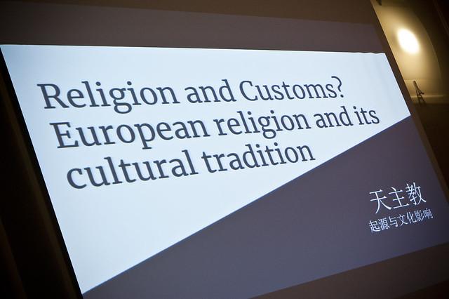"""Incontro su """"Religione e costumi"""" con una delegazione di studiosi cinesi"""