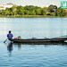 Fisherman on the Perfume River, Hue, Vietnam