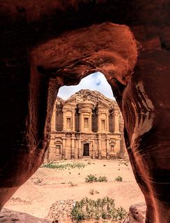 I Spy The Monastery, Petra, Jordan