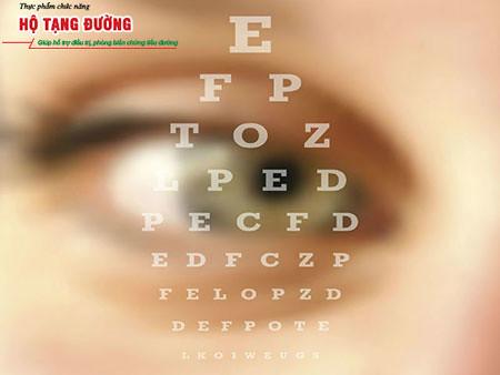 Biến chứng tiểu đường gây mờ mắt