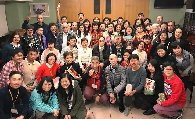 2017-12-14 QEH 院牧部義工聖誕聚餐