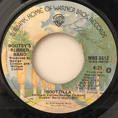BOOTSY'S RUBBER BAND:BOOTZILLA(LABEL SIDE-A)