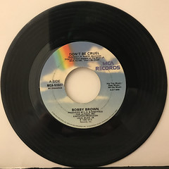 BOBBY BROWN:DON'T BE CRUEL(RECORD SIDE-A)
