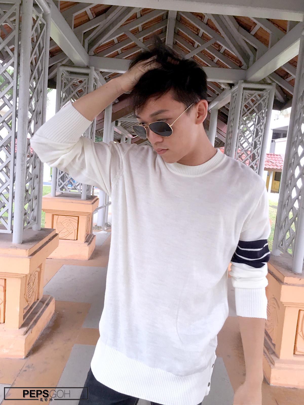 Peps Goh Singapore Rayban Photoshoot