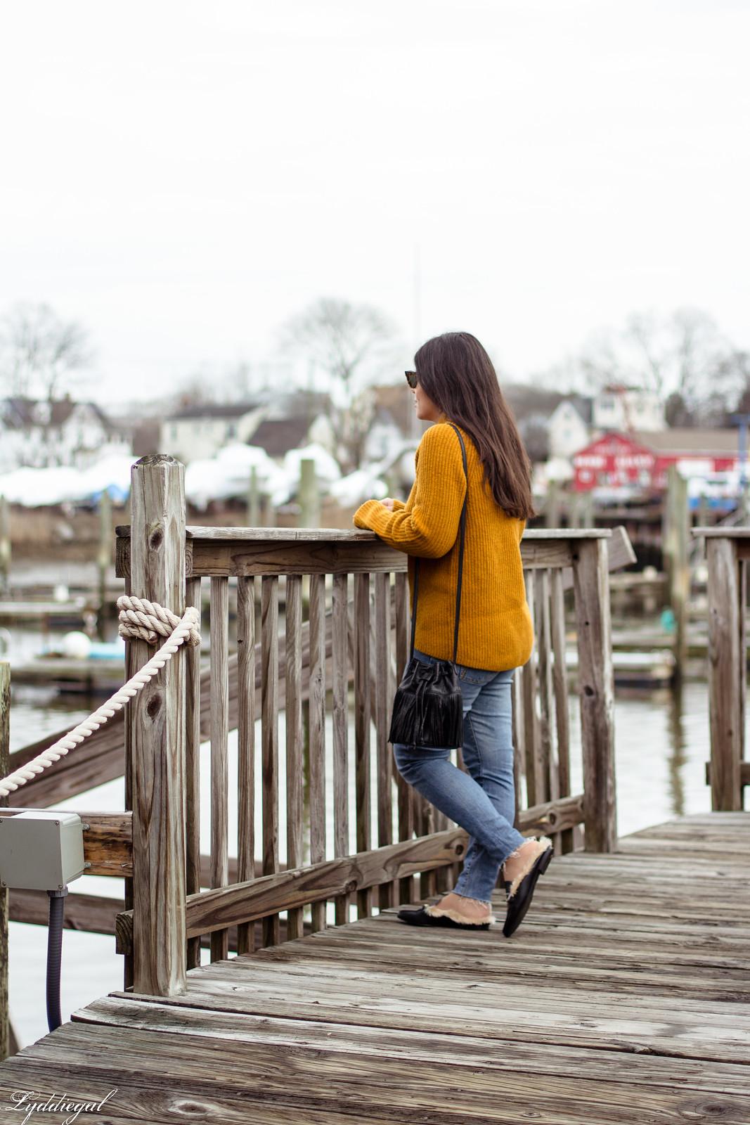 orange sweater, fringe bag, fur trimmed mules-16.jpg
