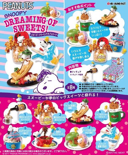 【新增官圖】RE-MENT《史努比》「夢想的甜點篇」趣味盒玩!スヌーピー DREAMING OF SWEETS!
