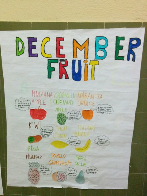 Fruta de Diciembre