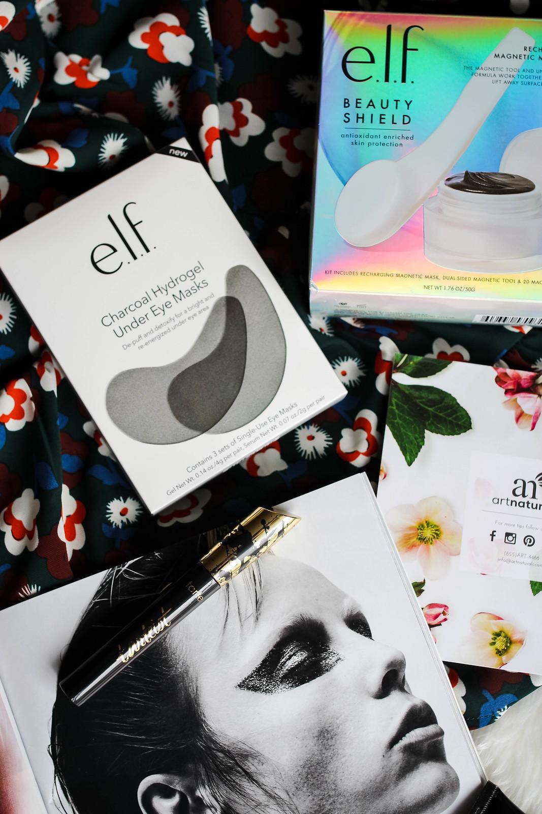 elf cosmetics Charcoal Hydrogel Under Eye Masks