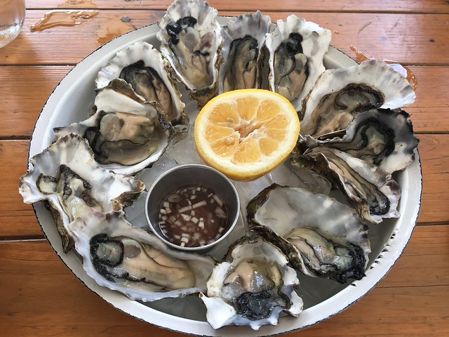 Parra Bay oysters - Oyster & Chop