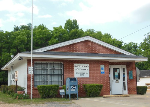 Sawyerville, Alabama 36776 PostOffice