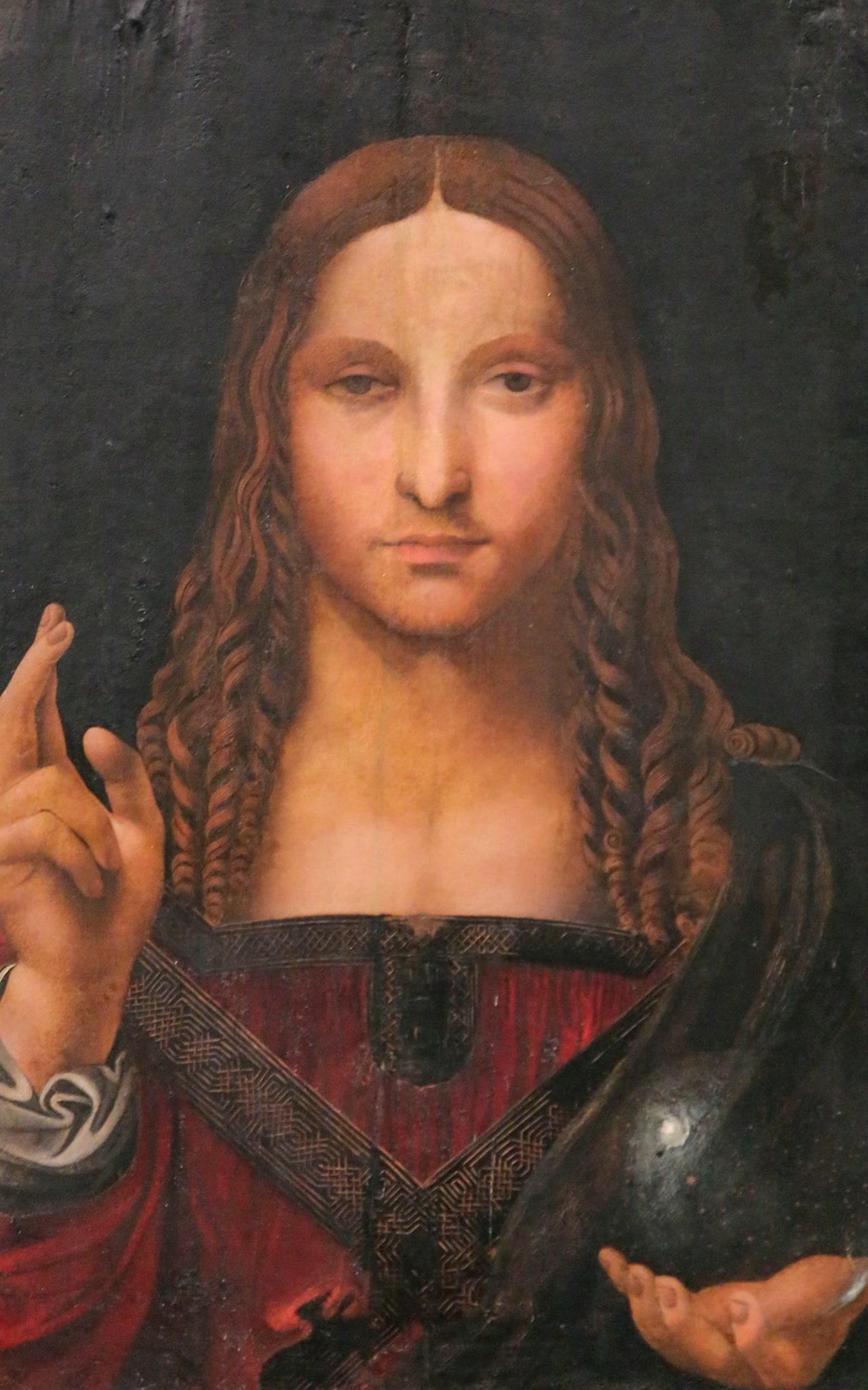 Leonardo Da Vinci's Salvator Mundi Credit