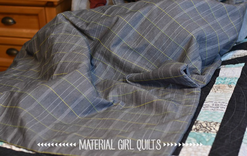 Lap Duvet by Amanda Castor of Material Girl Quilts