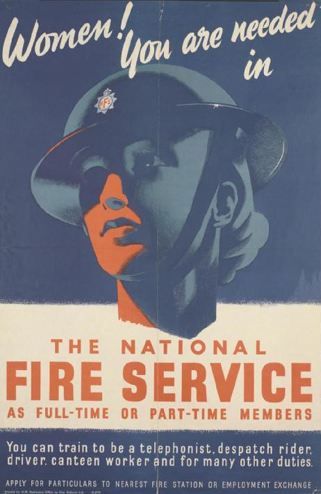Women!_You_are_Needed_in_the_National_Fire_Service_Art.IWMPST13894