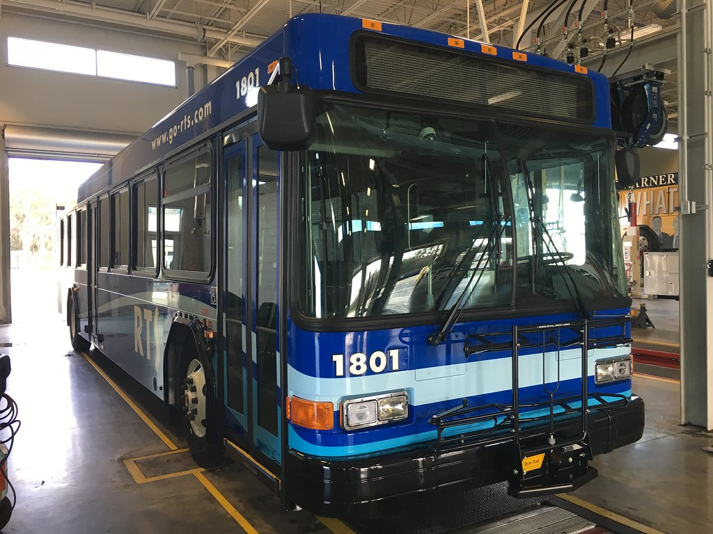 The first from ten in Gainesville Regional Transit System