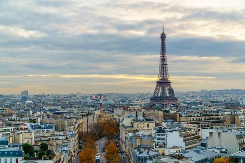 Torre Eiffel desde Arco