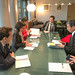 President Nakao meets French officials, UNESCO and business leaders in Paris