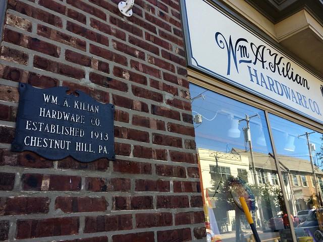 Kilian Hardware Chestnut Hill Philadelphia PA Retro Roadmap