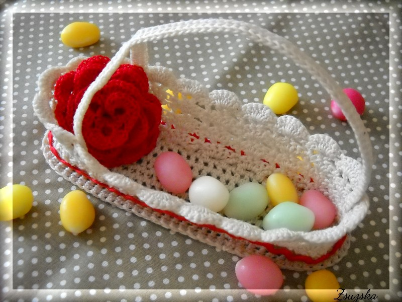 crochet basket, easter (2)