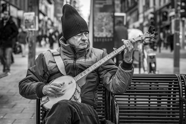 The Banjo Player