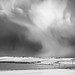 Snow storm over Deerness