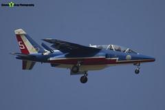 E73 5 F-TENE - E73 - Patrouille de France - French Air Force - Dassault-Dornier Alpha Jet E - RIAT 2013 Fairford - Steven Gray - IMG_9914
