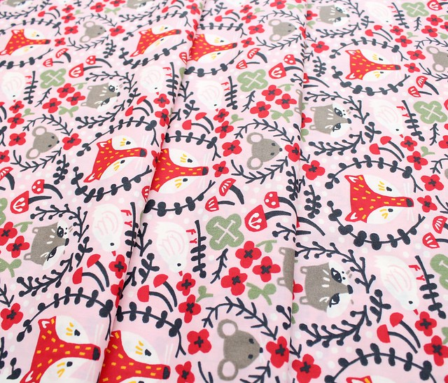 Birch Fabrics Folkland Folk Friends