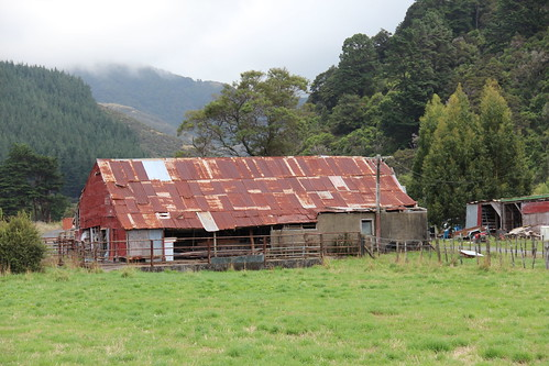 Shed on Mangaroa Valley Rd