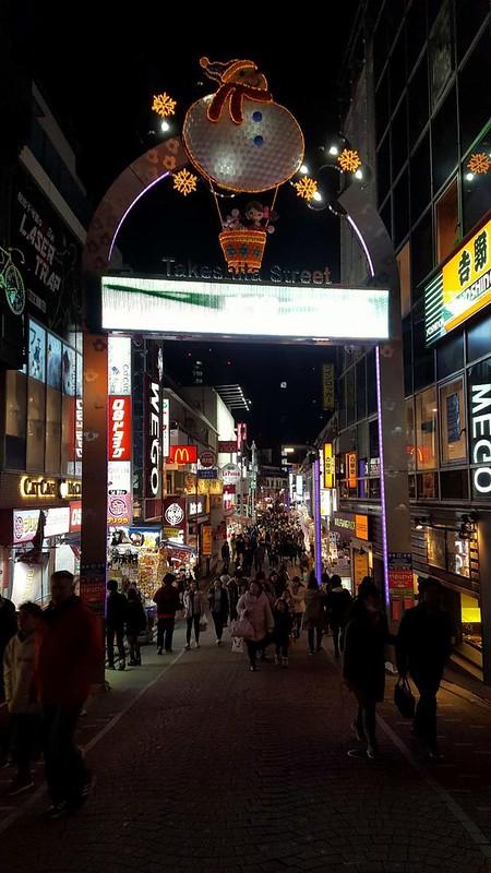 Tokyo på natten
