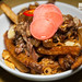 Pooty fries - Asian-style poutine with cheese curds and your choice of curried lamb, five spice short ribs or black bean sauce braised pork