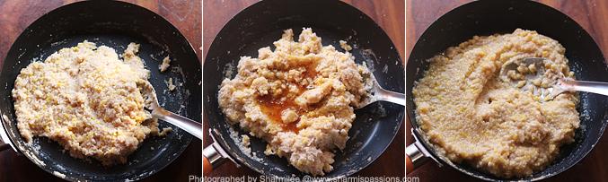 How to make godhuma rava thengai paal sakkarai pongal recipe
