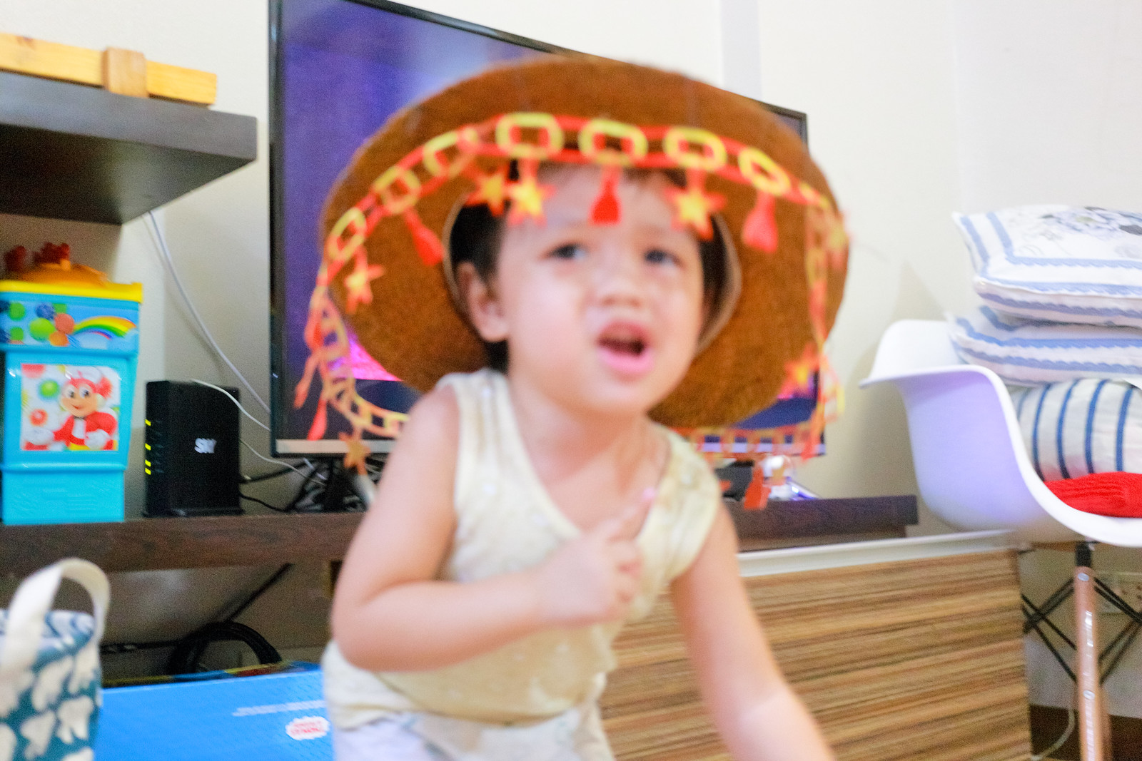 Dancing Sombrero Boy
