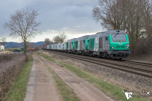 Train conteneurs BB75000
