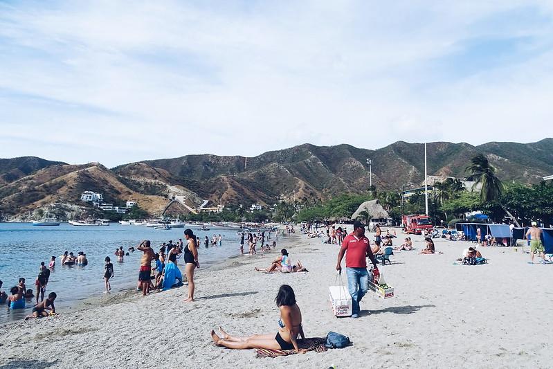 Praia de Taganga, Santa Marta • COL
