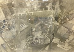aerial photo of RAF Woodhall Spa