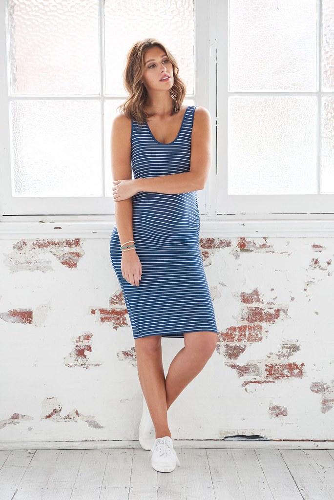 Ripe_Mia Stripe Tank Dress