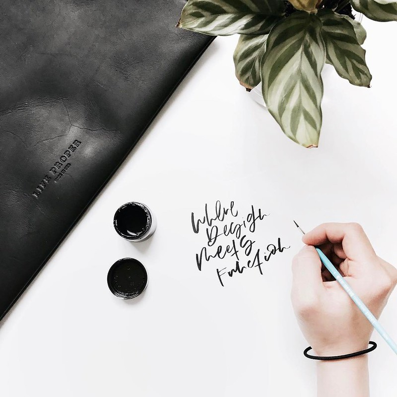 Steady Catalog Seattle Spotlight: Seattle calligrapher Clara Kim of Euni + Co.