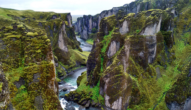 Fjaðrárgljúfur, Southern Iceland