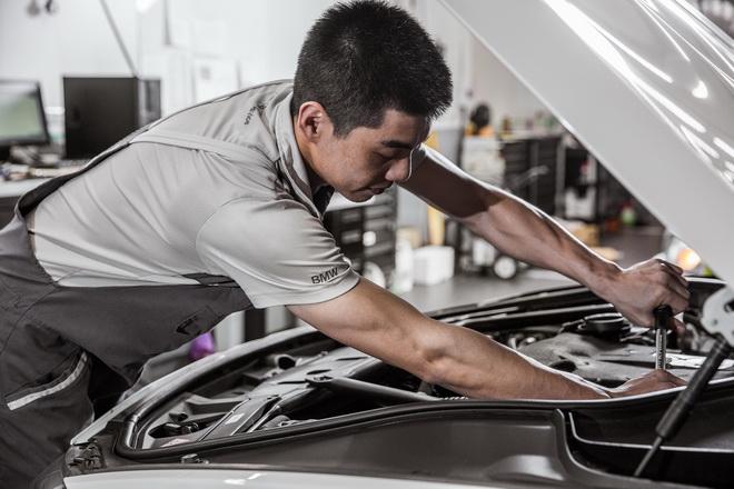 [新聞照片三]BMW  MINI總代理汎德公司服務廠